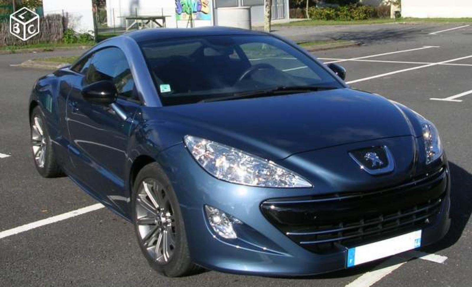 peugeot rcz bleue tuanake d 39 occasion voiture neuve et d. Black Bedroom Furniture Sets. Home Design Ideas
