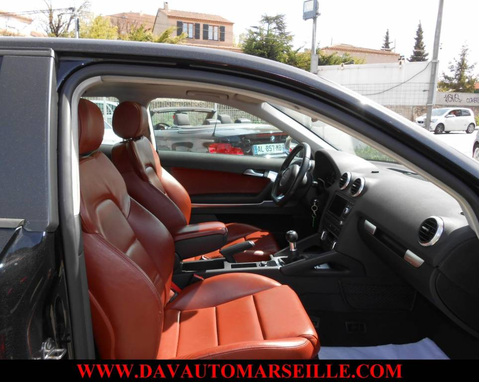 Voiture d'occasion AUDI A3 2.0L TDI 140 CVAMBITION LUXE ...