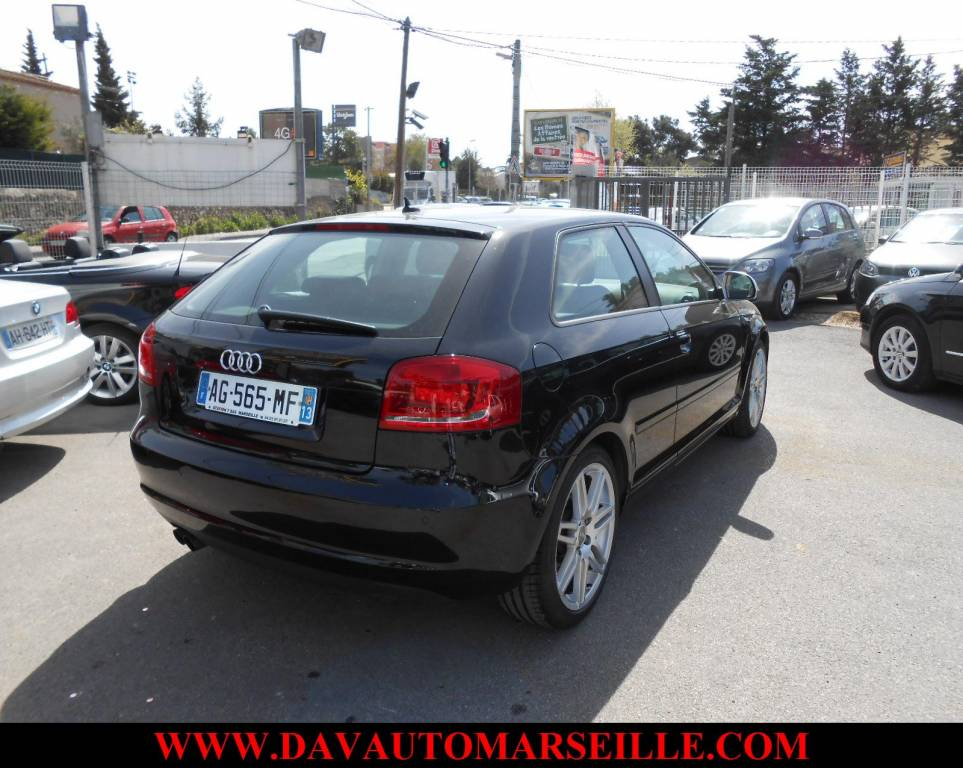 voiture d 39 occasion audi a3 2 0l tdi 140 cvambition luxe. Black Bedroom Furniture Sets. Home Design Ideas