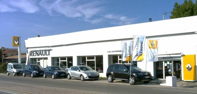 Concessionnaire et showroom renault rognac lgv automobiles voiture neuve et d 39 occasion de - Garage renault voiture occasion ...