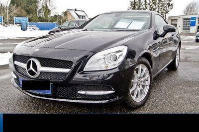 mercedes slk 200 k blueefficiency cabriolet d 39 occasion sur. Black Bedroom Furniture Sets. Home Design Ideas