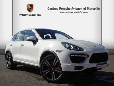 porsche cayenne turbo 4x4 d 39 occasion vendre sur avignon. Black Bedroom Furniture Sets. Home Design Ideas