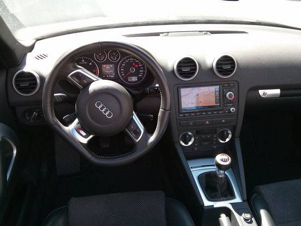 audi a3 cabriolet 2 0 tdi 140 dpf s line d 39 occasion. Black Bedroom Furniture Sets. Home Design Ideas