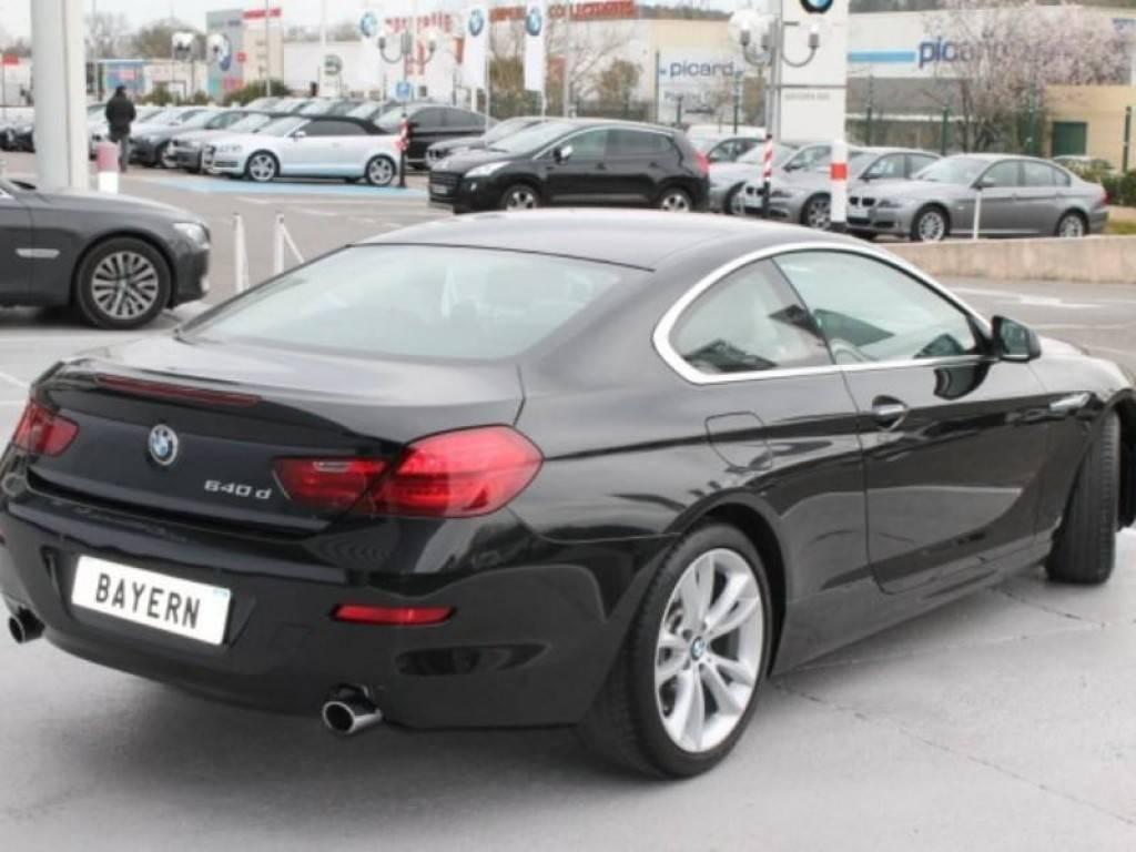 Coupé BMW 640D d'occasion à vendre, 313ch BVA - voiture ...