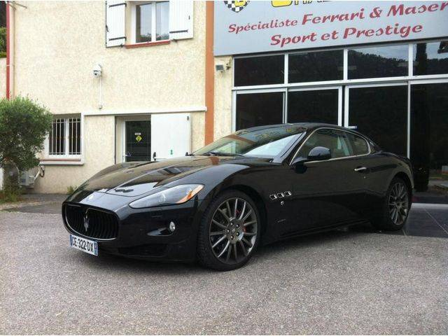 maserati granturismo d 39 occasion vendre sur marseille voiture neuve et d 39 occasion de luxe. Black Bedroom Furniture Sets. Home Design Ideas