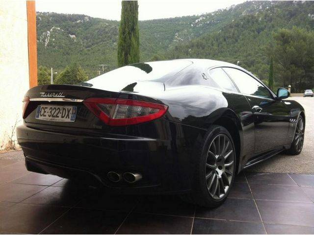 maserati granturismo d 39 occasion vendre sur marseille. Black Bedroom Furniture Sets. Home Design Ideas