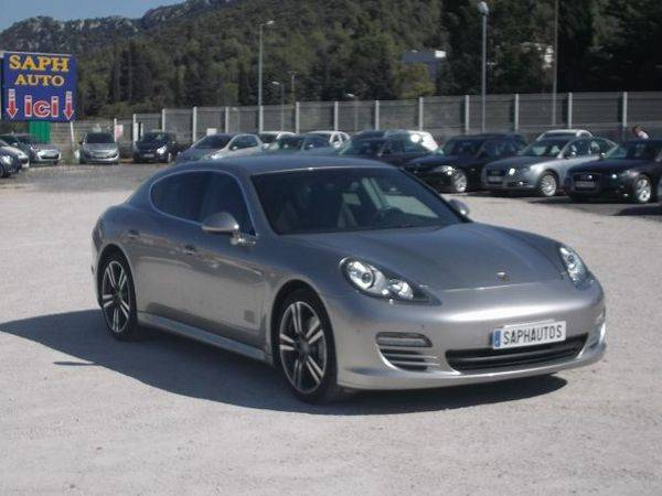 vend porsche panamera d 39 occasion aubagne marseille. Black Bedroom Furniture Sets. Home Design Ideas