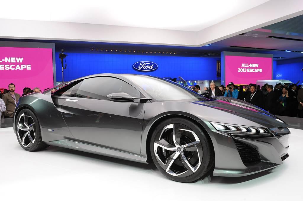 Meilleur Voiture Hybride >> HONDA NSX CONCEPT 2013 pour une meilleure synergie homme ...