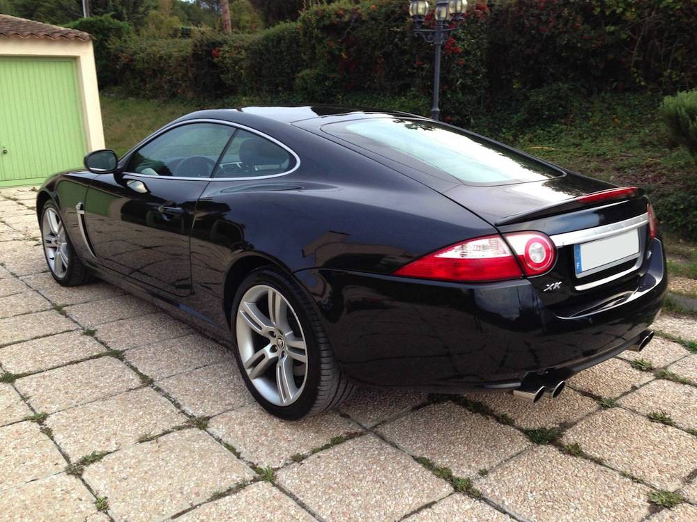 jaguar xkr 2008 occasion noire aix en provence voiture. Black Bedroom Furniture Sets. Home Design Ideas