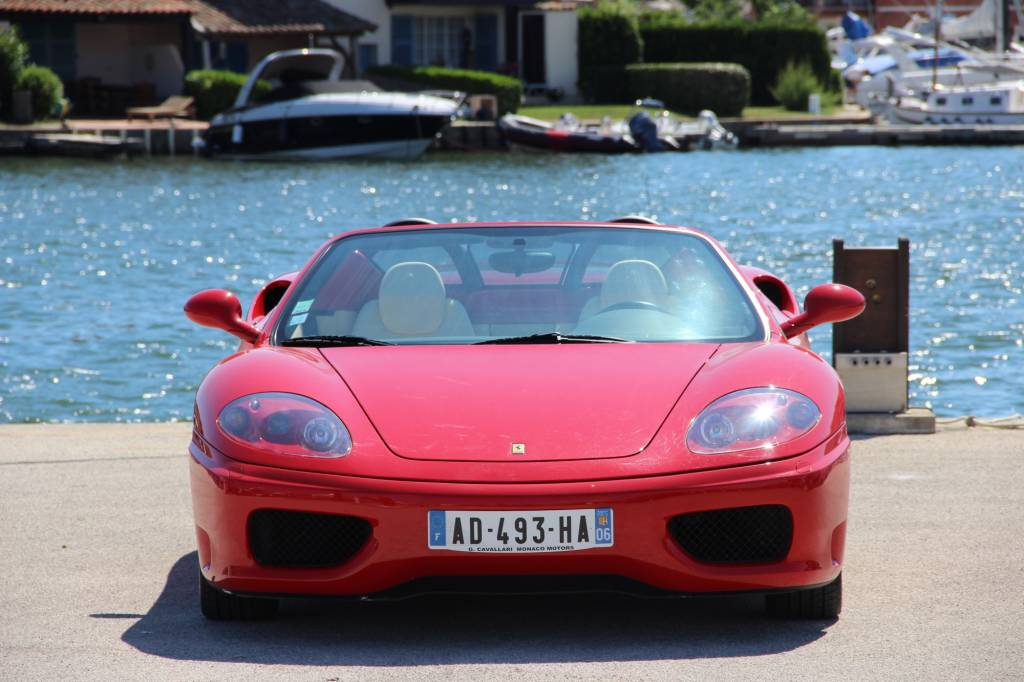 ferrari 360 modena spider f1 voiture neuve et d 39 occasion de luxe marseille avon. Black Bedroom Furniture Sets. Home Design Ideas