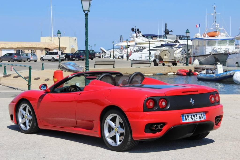 ferrari 360 modena spider f1 - voiture neuve et d u0026 39 occasion  de luxe marseille