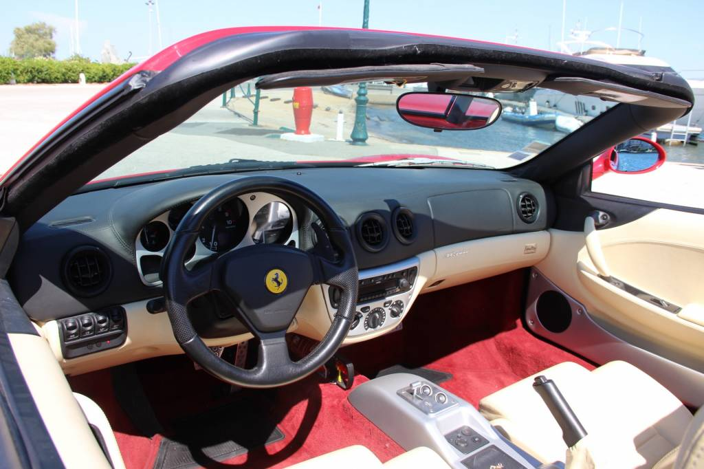 ferrari 360 modena spider f1 voiture neuve et d 39 occasion de luxe marseille annonce voiture. Black Bedroom Furniture Sets. Home Design Ideas