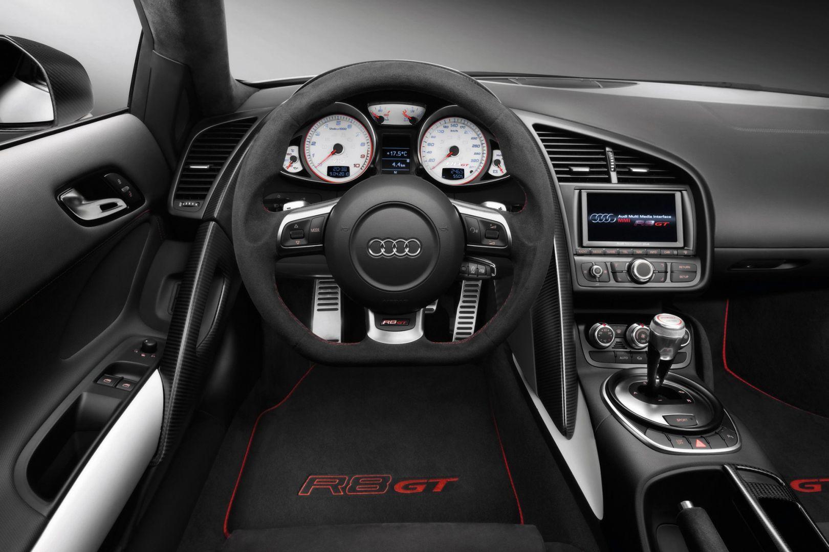 Intérieur Audi R8, du luxe dans la moindre finition ...