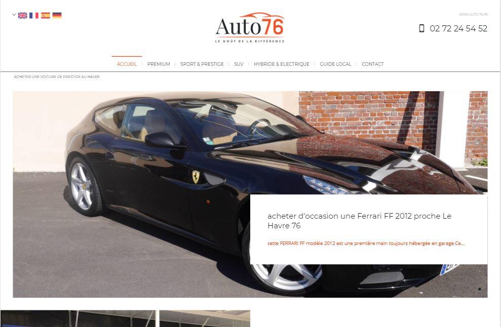 vente de voitures haut de gamme r centes le havre auto 76 voiture neuve et d 39 occasion de. Black Bedroom Furniture Sets. Home Design Ideas
