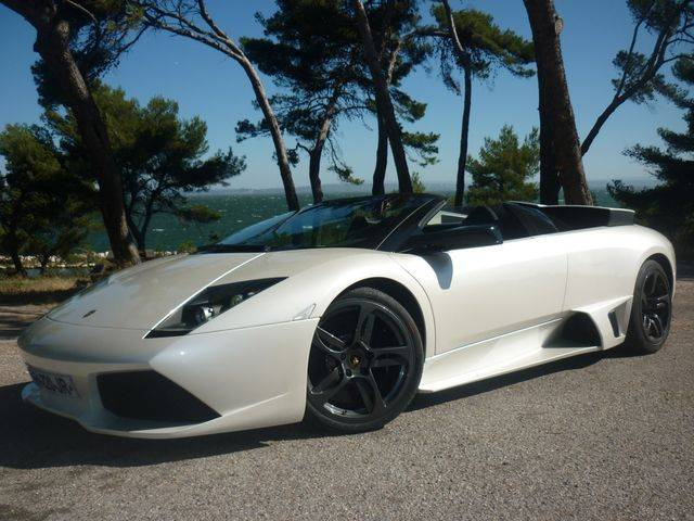 lamborghini murcielago lp 640 roadster d 39 occasion dans le 13. Black Bedroom Furniture Sets. Home Design Ideas