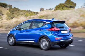 Voiture électrique allemande Opel Ampera-e - voiture neuve ...